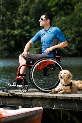 Ročni invalidski vozički