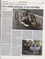 Poročilo ročnih kolesarjev s Franje