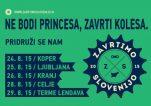 Znane trase kolesarjenja pod projektom Zavrtimo Slovenijo